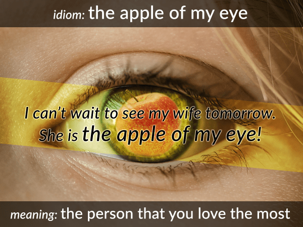 idiom-apple-of-my-eye