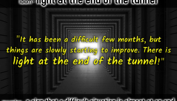 idiom-light-at-the-end-of-the-tunnel