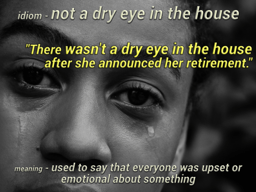 idiom-not-a-dry-eye-in-the-house