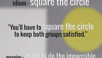 idiom-square-the-circle