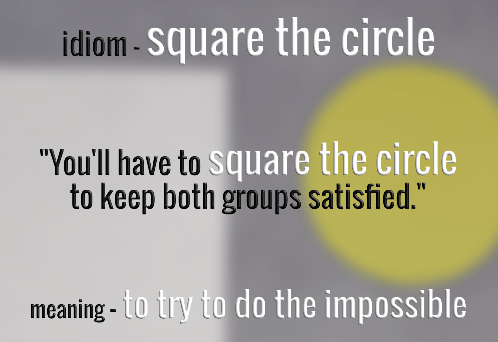 idiom-square-the-circle