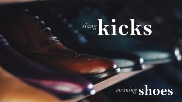 kicks slang