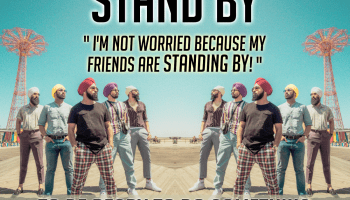 phrasal verb - stand by