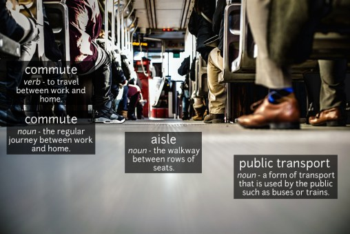 public transport vocabulary