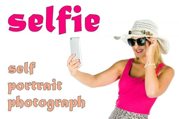 selfie slang