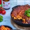 Lasagne met chorizo en ricotta