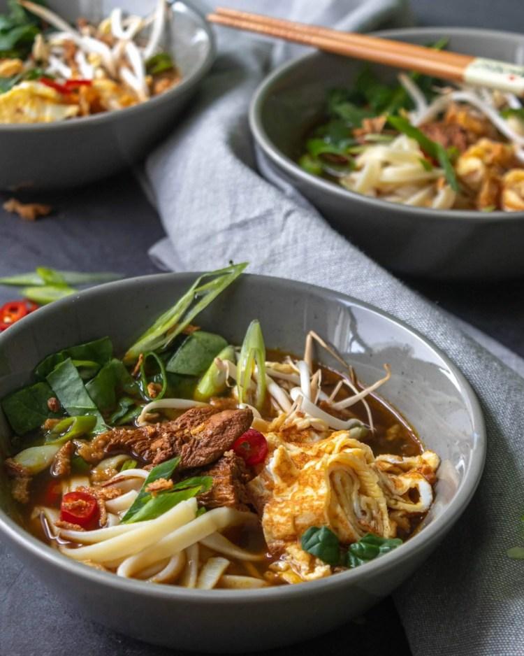 Recept voor makkelijke Oosterse kippensoep