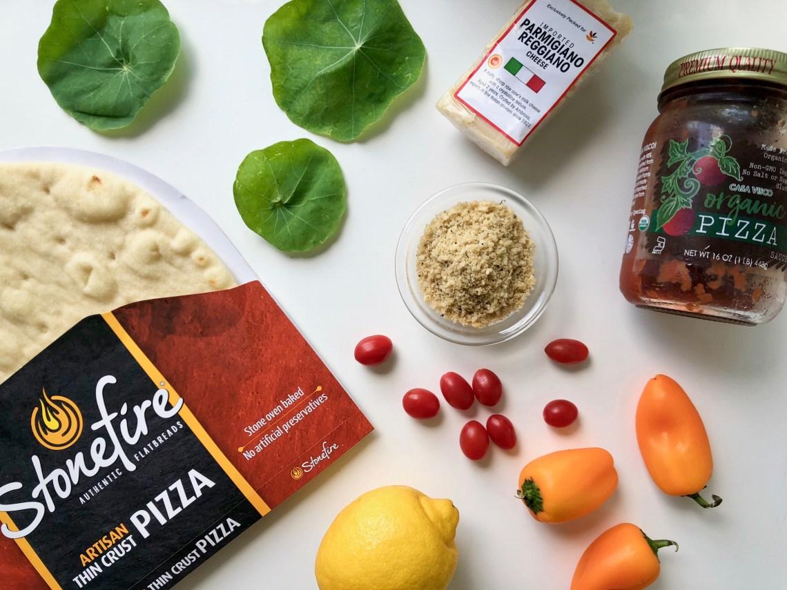 Nasturtium Pizza Ingredients