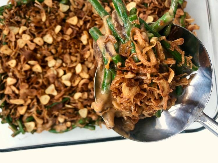 Doubanjiang Green Bean Casserole 4