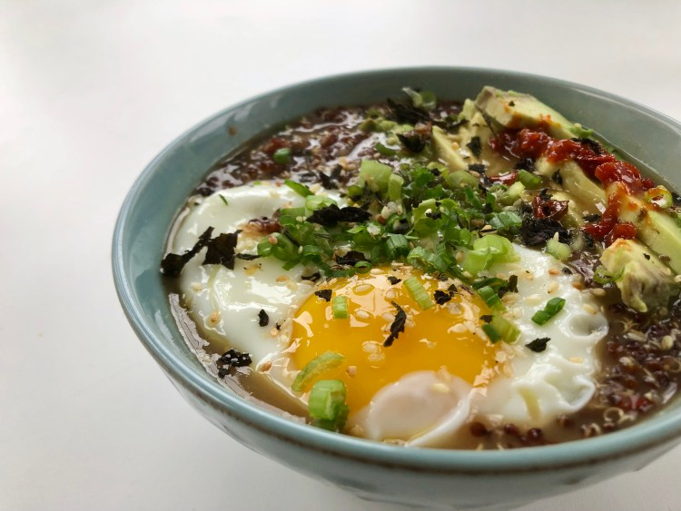 Congee with Dobanjiang 5