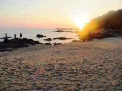 Small beach on Lamma Island