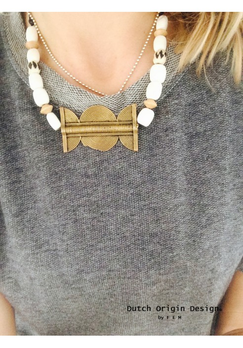 necklace african tribe