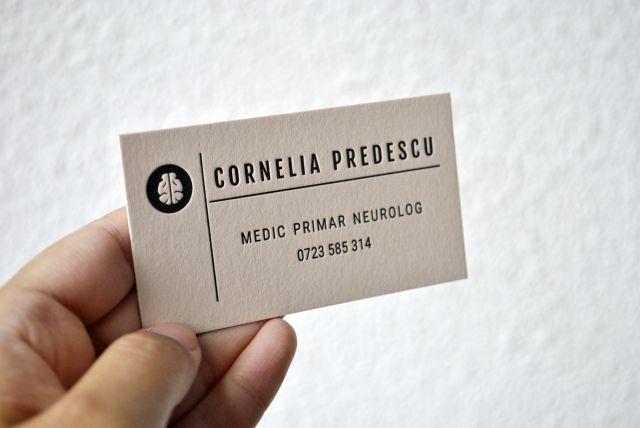 custom letterpress calling cards