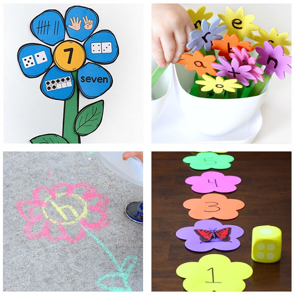 spring theme activities for