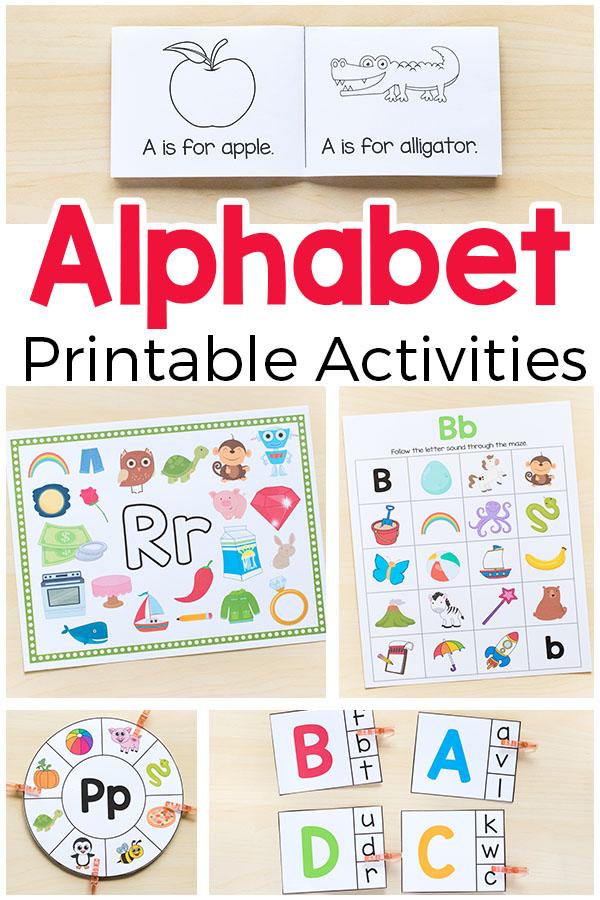 100 Alphabet Activities That Kids Love