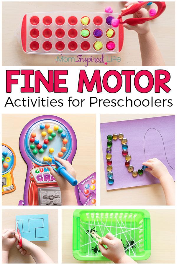 favorite fine motor activities