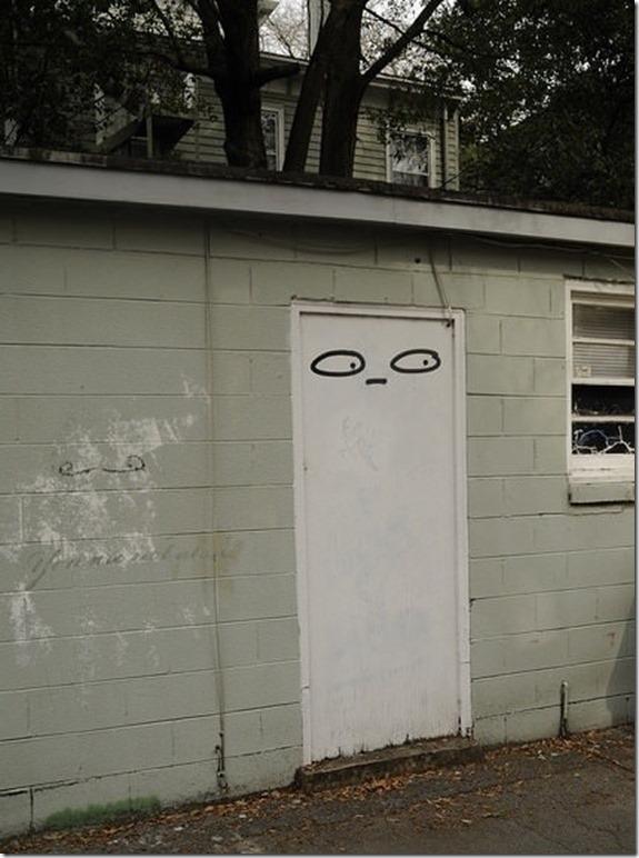 & Overly Suspicious Door