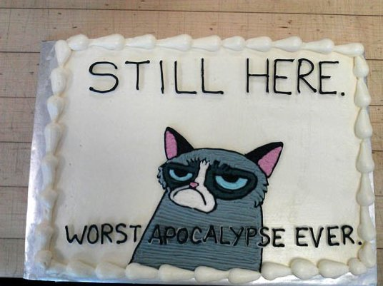 Awe Inspiring Grumpy Cat Cake Funlexia Funny Pictures Funny Birthday Cards Online Elaedamsfinfo
