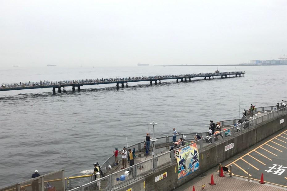 本牧海釣り施設