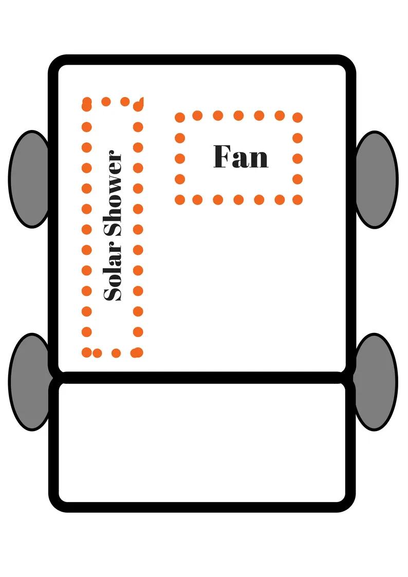 medium resolution of honda element camper car conversion layout plan