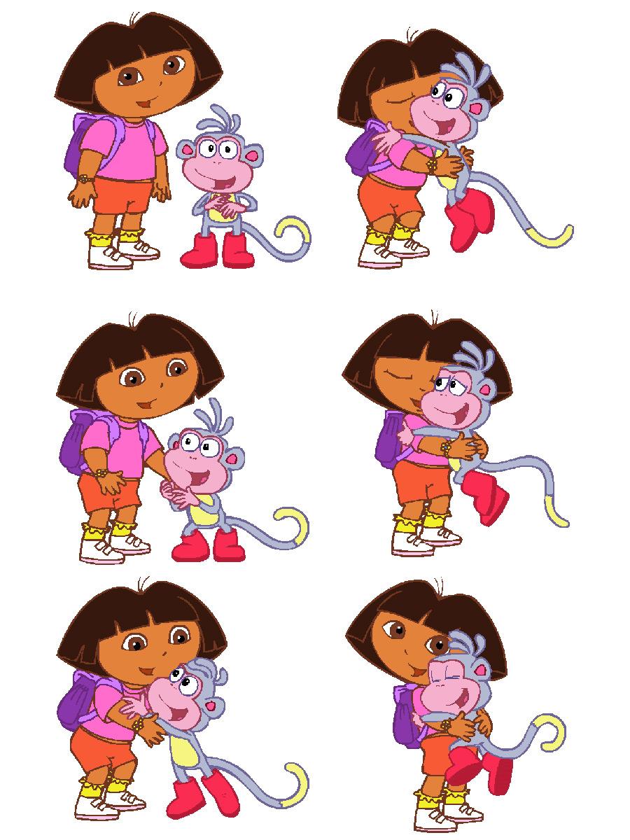 Dora Reboot : reboot, Designs, Production, Funline, Animation