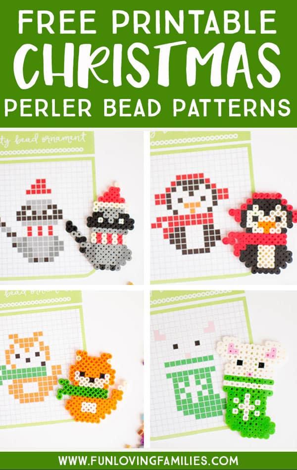 Free Perler Bead Patterns : perler, patterns, Picture, Perler, Pattern, (Free)