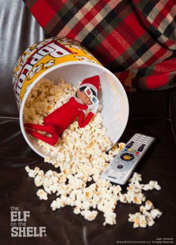 Elf On The Shelf Ideas - Movie Elf