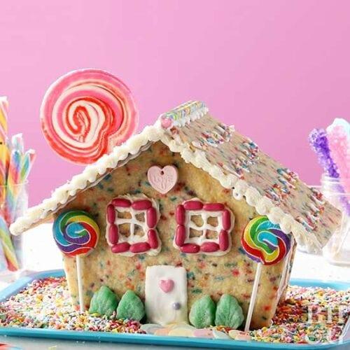 Confetti Cookie House