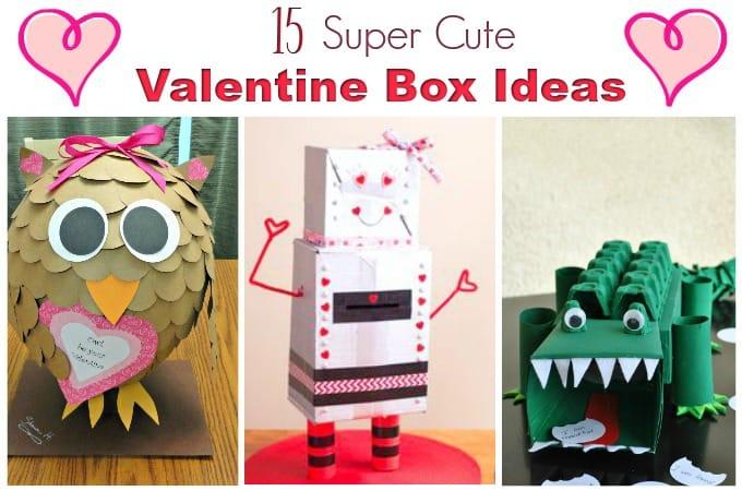Valentine boxes feature