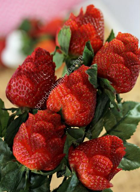 Strawberry Rose Valentine's Day Desserts
