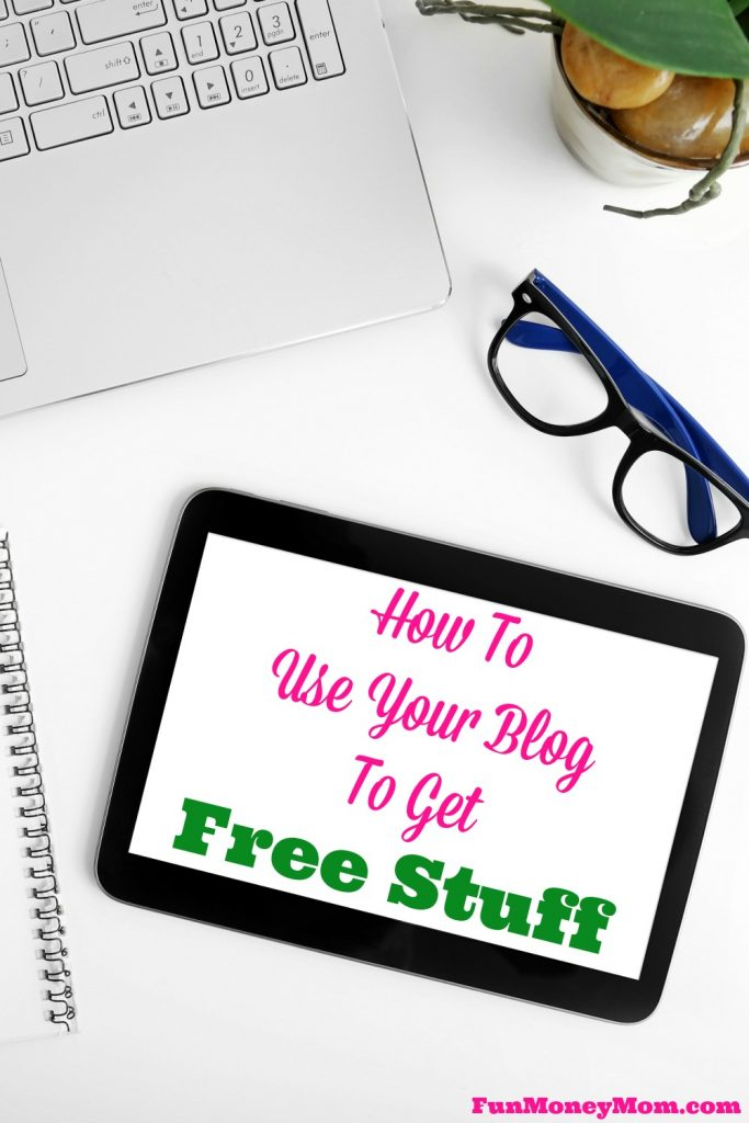 One of my favorite perks of blogging is all the free stuff! Find out how you can use your blog to get free stuff too!