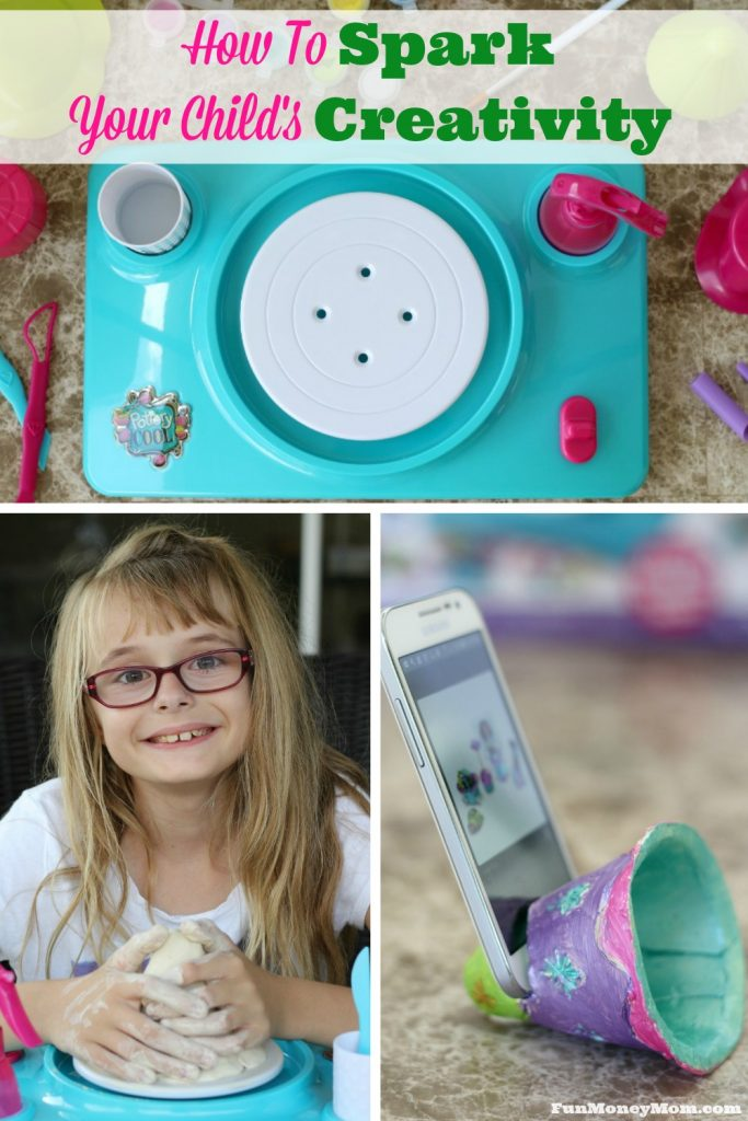 Looking for some ideas to spark your child's creativity?This Pottery Cool Studio is a fun way to put a new spin on things! @SpinMaster #PotteryCool #ad