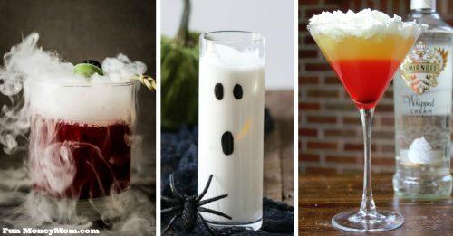 Halloween cocktails facebook