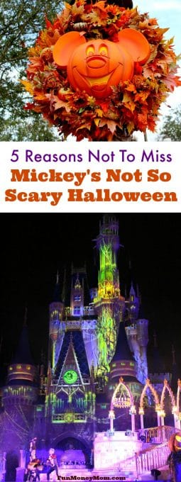 If you've never been to Mickeys Not So Scary Halloween Party, here's why you can't miss this special Disney World annual event!