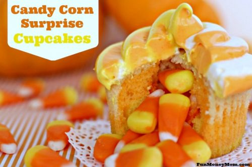 Candy corn surprise feature