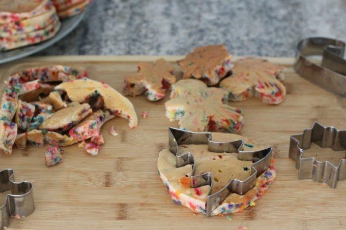 sugar-cookie-pancakes-cutting-shapes