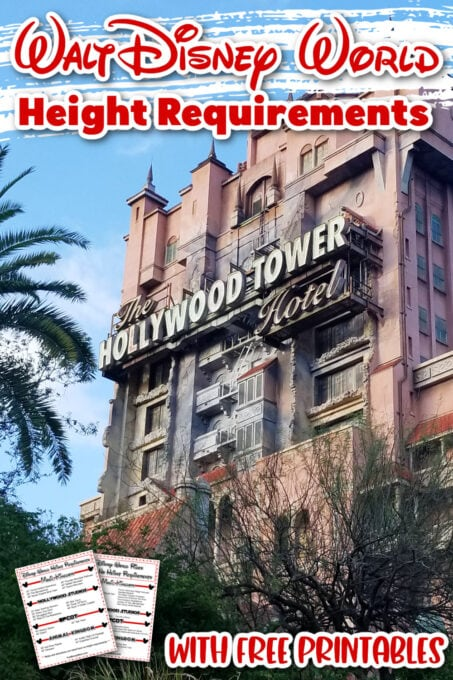 Tower Of Terror pin for Pinterest