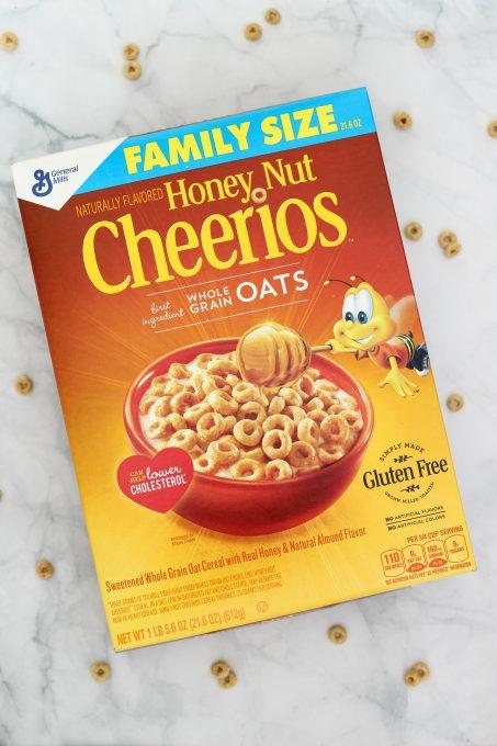 Honey Nut Cheerios never fail to make my family happy