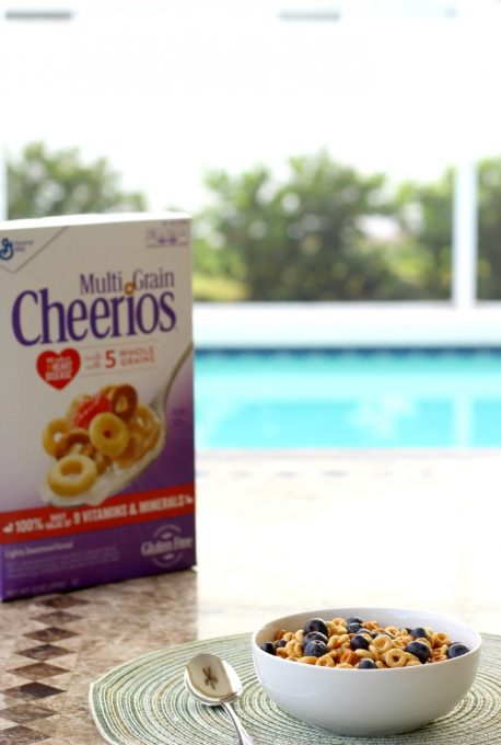 Once I make my family happy, it's time to make myself happy with some Multi Grain Cheerios