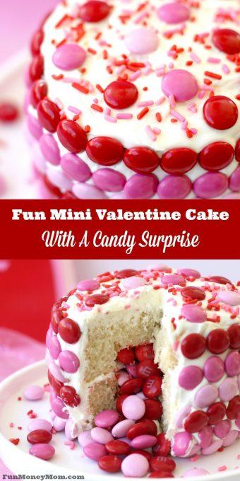Mini Valentine Cake