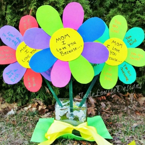Mother's Day crafts - flowers