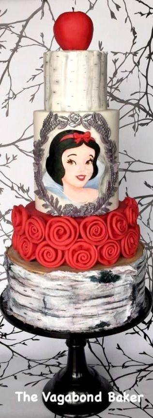 Disney princess cakes with Snow White
