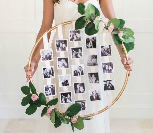 creative photo crafts - wall decor