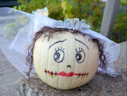Bride No Carve Pumpkins