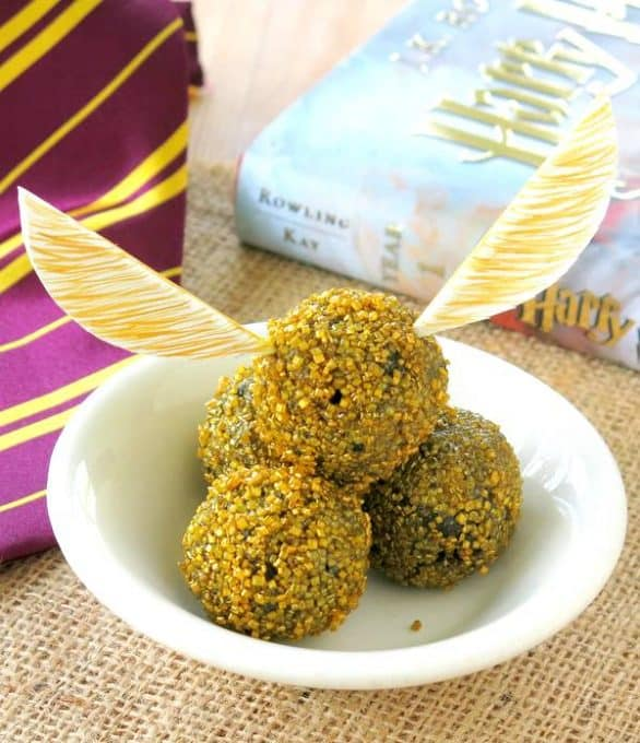 Golden Snitch Truffles