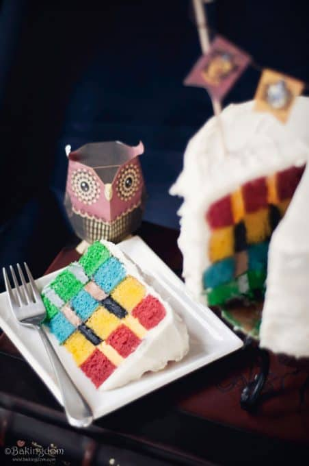 Hogwarts House Cake