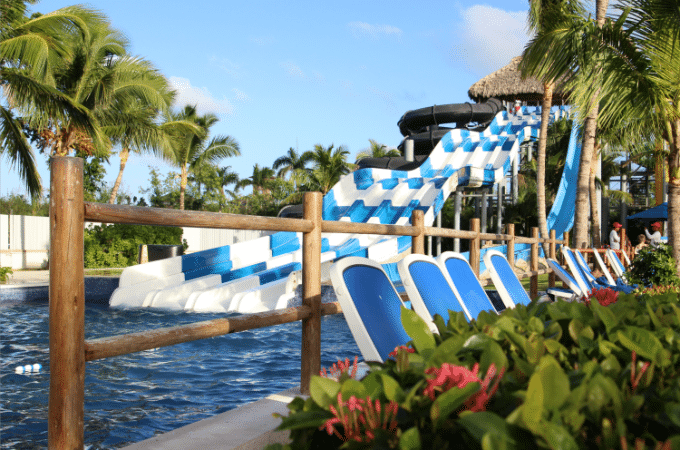 Kids and adults will enjoy the water park when they vacation at Memories Splash Punta Cana