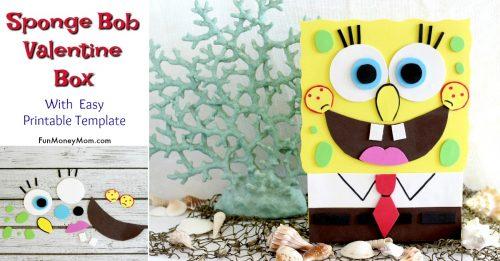 Sponge Bob Valentine's Day Box