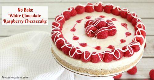 white chocolate raspberry cheesecake facebook