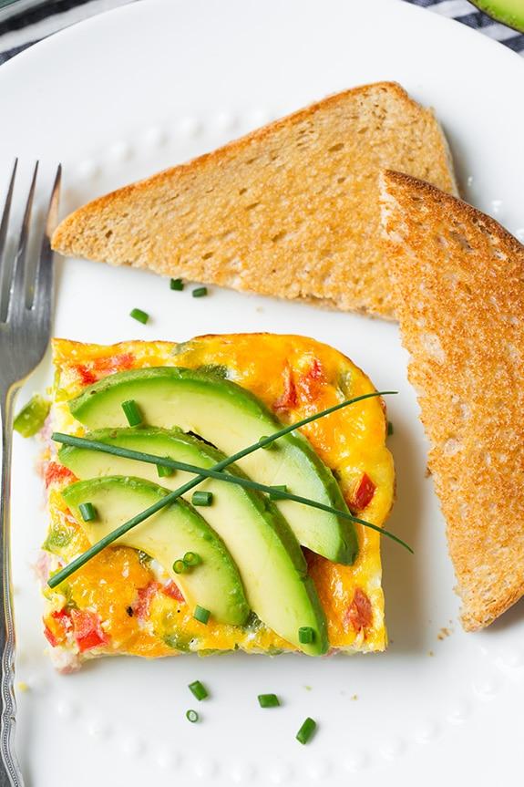Breakfast casseroles - Baked Denver Omelet
